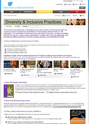 Diversity-&-Inclusiveness---Programs-&-Services---Council-on-Foundations-(20130109)